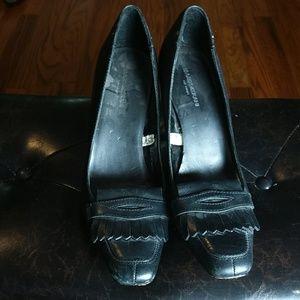 Isaac Mizrahi Black Heels